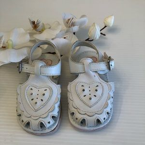 Other - stix'n stones Baby Girls White Sandal Size  5